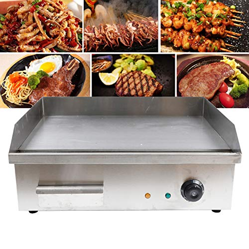 TBVECHI Teppanyaki, Electric Griddle Cooktop Countertop Commercial...