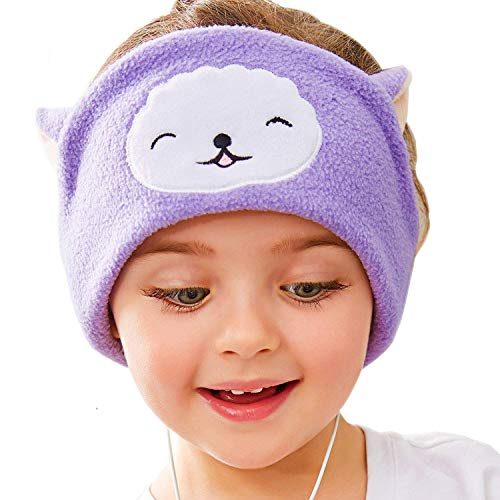 Kids Headphones Volume Limited with Easy Adjustable Headband Llama
