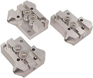 WINSINN Reprap Kossel Delta M3 Tackle Slide Slider Pulley - Aluminium All Metal Silver - 20x20mm for 3D Printer Accessories Parts