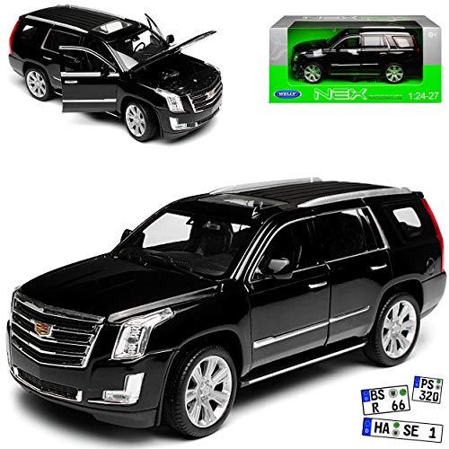 Cadillac ESCALADE NERO 1//43 solido modello auto con o senza individiuellem...