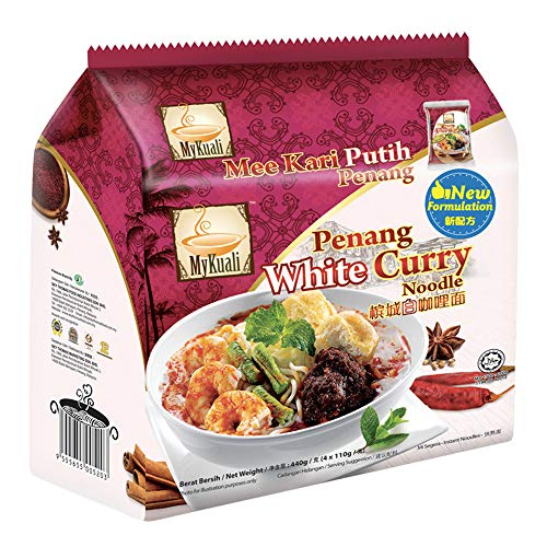 MyKuali Penang White Curry Noodle (Pack of 4)