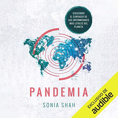 Diseño de la portada del título Pandemia (Narración en Castellano)