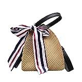 Zyyszma Women Summer Handbag INS Popular Female Fashion Straw Bags Lady Triangular Hot Holiday Shoulder Bag Travel Knit Bag