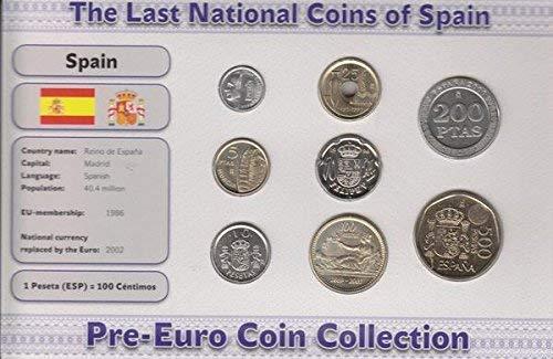 IMPACTO COLECCIONABLES Monedas PRE Euro de España - 8 Monedas Acuñad