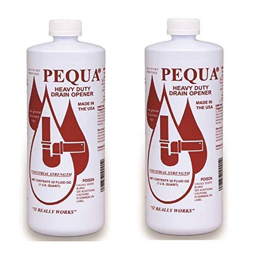PEQUA INDUSTRIES P-10232 32 oz Pequa Drain Opener - 2 PACK