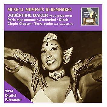 Musical Moments to Remember: Joséphine Baker, Vol. 2 (2014 Digital Remaster)