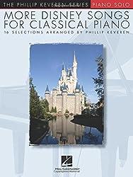 More Disney Songs For Classical Piano (Arr Keveren Philip) Pf Bk