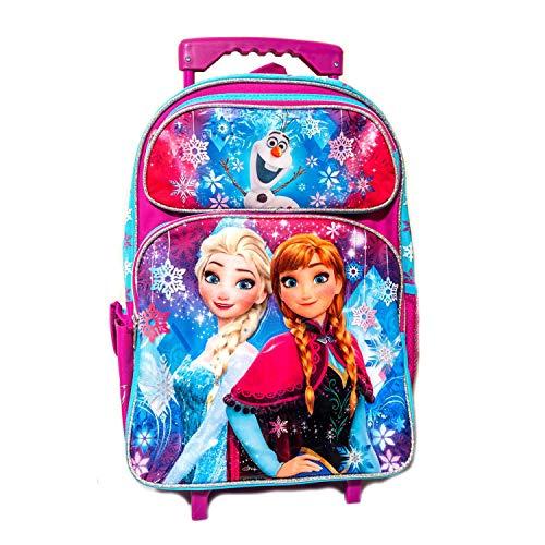 Disney Frozen 16' Large Roller Backpack Trolley.