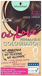 [Only Love ] 唯一の永久染毛剤400強烈なエスプレッソを愛します - Only Love Permanent Hair Dye 400 Intense Espresso [並行輸入品]