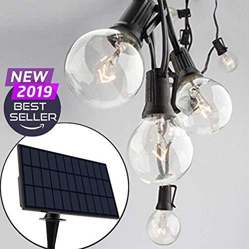 50 Solar Power LED String Lights White Ultra Bright