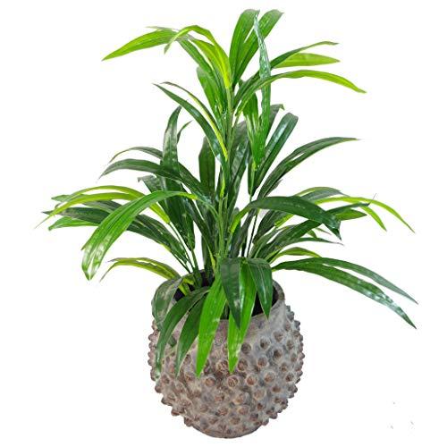 Hoja 65 cm Planta Artificial Grande de bambú arbustos