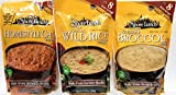 Shore Lunch Soup Mix 3 Pack Bundle - Wild Rice, Cheddar Broccoli, Homestyle Chili