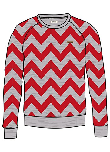 Maloja Edem, Sweatshirt M rot (Mohn)