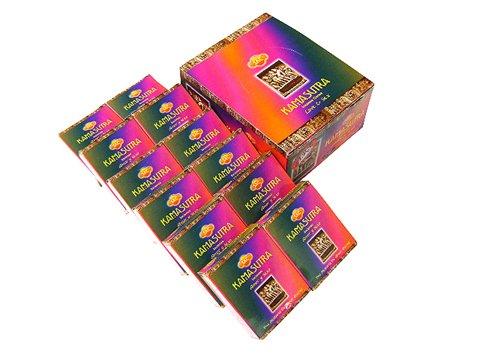 SANDESH SAC (サンデッシュ) カーマスートラ香 コーンタイプ KAMASUTRA CORN 12箱セット