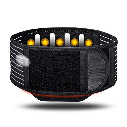 ZFF Soporte Lumbar Cinturón Auto-Calentamiento Inferior Atrás Apoyo Magnetoterapia para...