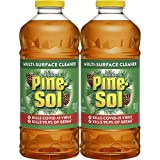 Pine-Sol Multi-Surface Cleaner, Original Scent, Two Count Bottle, 120 fl oz Total