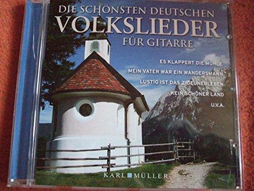 Die schönsten deutschen Volkslieder für Gitarre