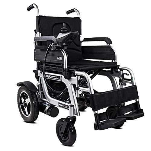 OSL Zusammenklappbarer Elektrorollstuhl (rechte Seite) - Rollstuhl mit Power Compact-Mobilitätshilfe,...