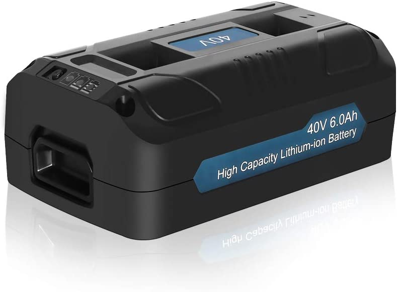 Bslite 40V 6.0AH Lithium-Ion Battery Arlington Mall Replacement for Joe Sales results No. 1 40 Snow