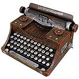 GARNECK Máquina de Escribir Vintage Antiguo Retro Hogar Mesa...