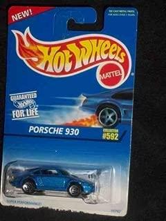 Hot Wheels #592 Porsche 930 5-Spoke Collectible Collector Car Mattel 1:64 Scale