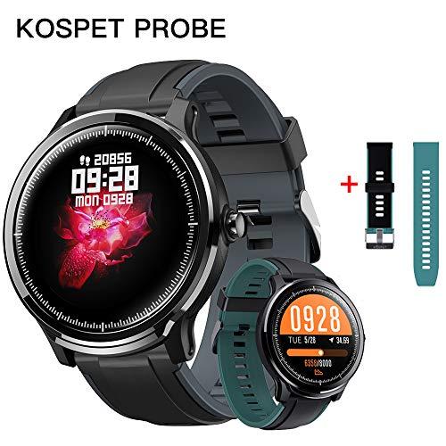 Montre Intelligente Kospet Kospet, Tracker de Fitness avec Moniteur de fréquence Cardiaque et de Pression artérielle, 1.3 Pouces IP68 Tracker d'activité étanche,Compatible avec Android& iOS