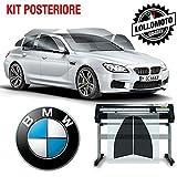 Generico Kit Pellicole Oscuramento Vetri Posteriori Compatibile con Tutte Le BMW Serie 1 3 5 6 7 X1 X2 X3 X4 X5 X6 M1 M2 M3 M4 Touring Berlina - LOLLOMOTO (20% (Scura), M3 Saloon 1997-1998)