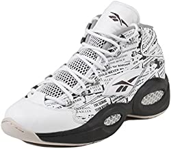 Reebok V69765 Men QUESTION MID Misunderstood Sneakers White Coal Sand Stone