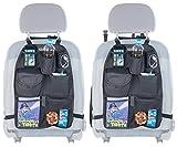 PEARL Rücksitzorganizer: 2er-Set Kfz-Rückenlehnen-Organizer für Spielzeug & Co, alle Fahrzeuge (Tasche für Rückenlehne Auto)
