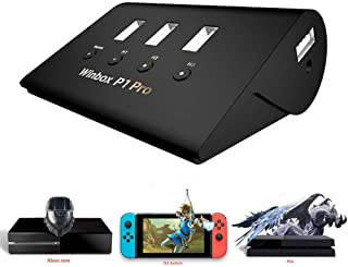 Greaked Winbox P1 Pro Keyboard/Mouse Gamepad adaptador 4 USB para FPS, PS4, P1, Pro, XBOX, AoV, Mobile Legend, RoS, Cutter