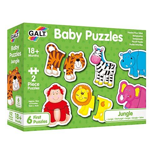 Galt Puzzles Pour Bébé - La Jungle