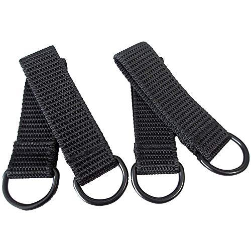 AISENIN Heavy Duty Suspender Loop Attachment Belt Loop Tool Belt Loop Suspender Strap Belt Connectors, 4 Pack