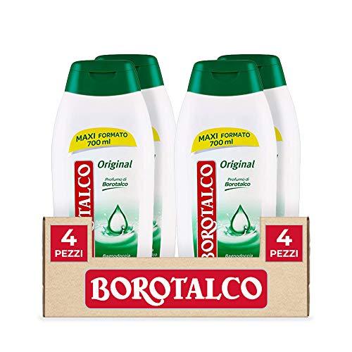 Borotalco Bagnodoccia Original, 4 x 700 ml