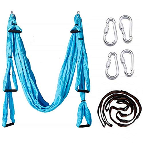 Find Bargain EverKing Aerial Yoga Swing - Ultra Strong Antigravity Yoga Hammock/Sling/Inversion Tool...