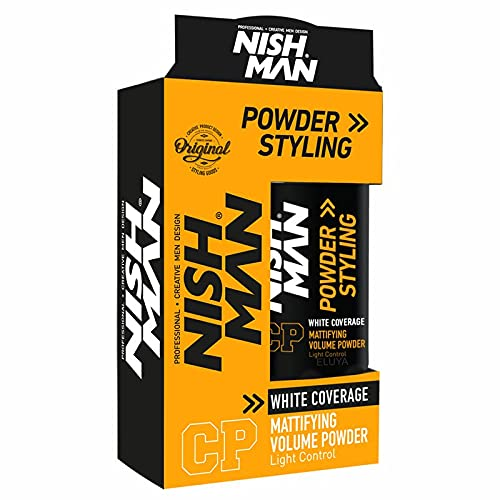 NISHMAN CP Volume Powder Mattifying Styling schwarz färbend 20 g