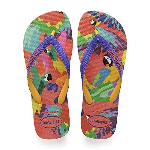 Havaianas Top Fashion, Infradito Donna, Multicolore (Flamingo 0579), 33/34 EU