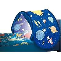 Direct TV Outlet Sleepfun Tent Original Visto en TV Tienda de campaña para la habitación Carpa Infantil Plegable y con Luz Juguete para niños (Color Azul)
