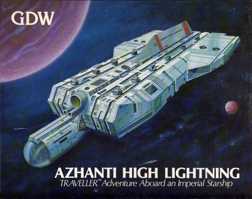 Azhanti High Lightning (Traveller) [BOX SET]