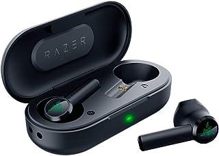 Razer Hammerhead - Auriculares inalámbricos Bluetooth (baja latencia, resistentes al agua, Bluetooth 5.0, emparejamiento automático, color negro clásico (Renewed)