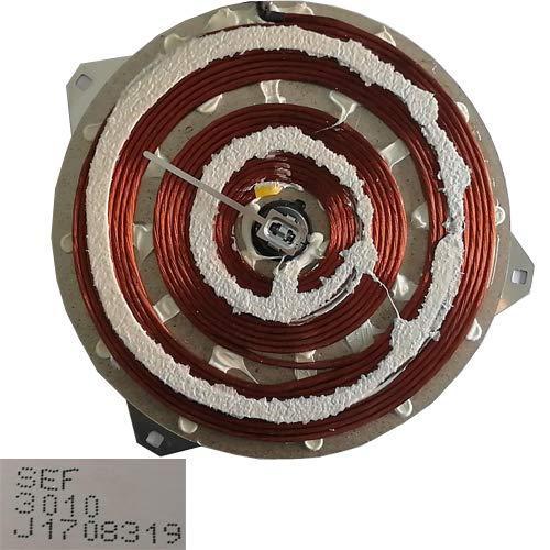 Desconocido Bobinas Inducción SEF 3010 J1708319, Teka IR 3200 VR01 22cm Swap