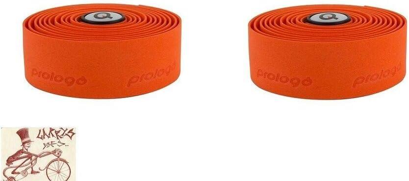 Prologo PLAINTOUCH Max 46% OFF Orange Bicycle Regular store BARTAPE Handlebar