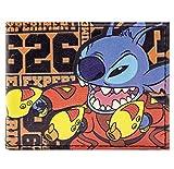Disney Lilo & Stitch esperimento 626 arancia portafoglio