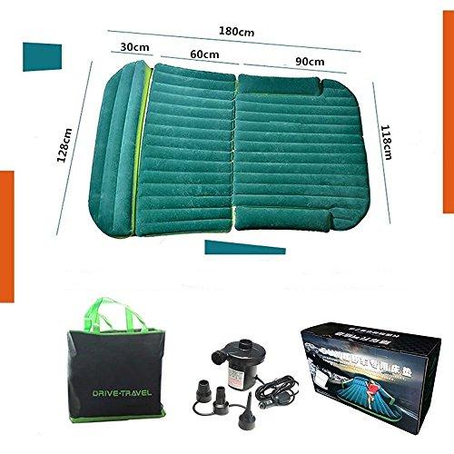 BonClare SUV車用ベッド エアベッド エアマットレス 車中泊ベッド ドライブ キャンプ ベッドキット グリーン エアーベッド
