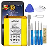for ZTE ZMax Pro Z981 Battery Replacement, Li3934T44P8H876744 Battery for ZTE Grand X Max 2 Z988 Z983 Imperial Max Z963U with Repair Tool Kits