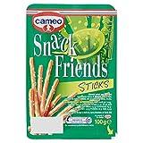 Cameo - Snack Friends Sticks, Biscotti Salati per Aperitivi - 100 g