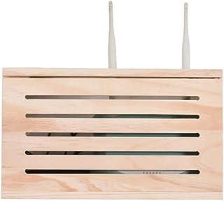 LULUDP Scatola di archiviazione Wireless Ricarica Storage Router Wireless organizzatore del Cavo - a Parete WiFi Cat Set-T...