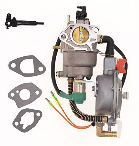 New Manual Choke Dual Fuel Carburetor LPG NG Conversion kit 4.5-5.5KW GX390 188F