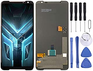 Cell Phone Replacement LCD Screen AMOLED Material LCD Screen and Digitizer Full Assembly for Asus ROG Phone 3 ZS661KS