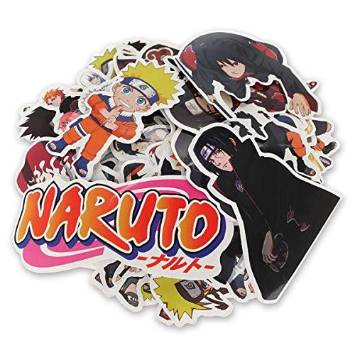 CoolChange Hochwertige Naruto Vinyl Aufkleber, 63 Stück