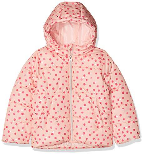 NAME IT Mädchen NMFMISTI AOP Hooded Jacket Jacke, Mehrfarbig (Silver Pink Silver Pink), (Herstellergröße: 122)